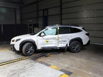 Outback zazářil vtestech Euro NCAP